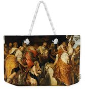 The Anointment Of David Weekender Tote Bag