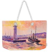 The Anstruther Harbour Weekender Tote Bag