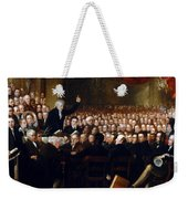 The Anti-slavery Society Convention 1840 Weekender Tote Bag