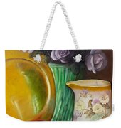 The Antique Pitcher Weekender Tote Bag by Marlene Book