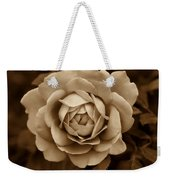 The Antique Rose Flower Weekender Tote Bag