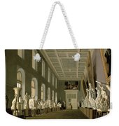 The Antiquities Gallery Of The Academy Of Fine Arts, 1836 Oil On Canvas Weekender Tote Bag