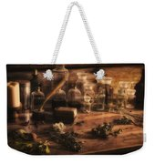 The Apothecary Weekender Tote Bag by Priscilla Burgers