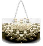 The Apple Bottle Weekender Tote Bag