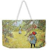 The Apple Harvest Weekender Tote Bag