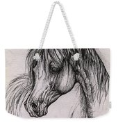 The Arabian Horse With Thick Mane Weekender Tote Bag