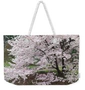The Arboretum Cherry Blossoms Weekender Tote Bag