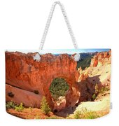 The Arch At Bryce Weekender Tote Bag
