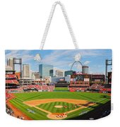 The Arch In The Outfield Weekender Tote Bag