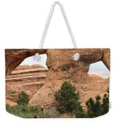 The Arches Of Double O Arch  Weekender Tote Bag