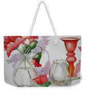The Arrangement Weekender Tote Bag