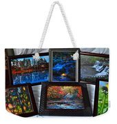 The Art Collector Weekender Tote Bag by Frozen in Time Fine Art Photography
