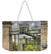 The Art Nouveau Ships Elevator - Portal View Weekender Tote Bag