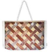 The Art Of Brick Weaving  Weekender Tote Bag