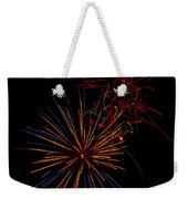 The Art Of Fireworks  Weekender Tote Bag
