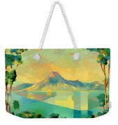 The Art Of Long Distance Breathing Weekender Tote Bag