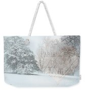 The Art Of Nature Weekender Tote Bag by Betty LaRue