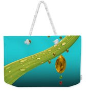 The Art Of Raining In California Weekender Tote Bag