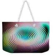 The Art Of Ripples Weekender Tote Bag