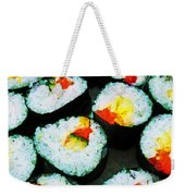 The Art Of Sushi Weekender Tote Bag