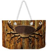 The Art Of The Crab Weekender Tote Bag