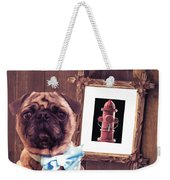 The Artist And His Masterpiece Weekender Tote Bag by Edward Fielding