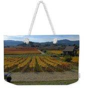 The Artist In The Vineyard Weekender Tote Bag