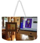 The Artist In His Studio Weekender Tote Bag