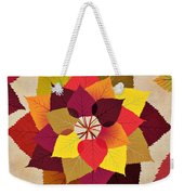 The Artistry Of Fall Weekender Tote Bag