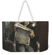 The Artists Father Reading L Evenement Weekender Tote Bag