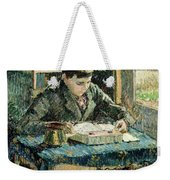 The Artists Son Weekender Tote Bag by Camille Pissarro
