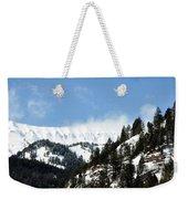 The Artwork Of Winter Weekender Tote Bag