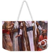 The Ascension Weekender Tote Bag by Harold Copping