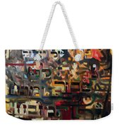 The Ashes Of Yitzhak Are Seen Before Me Collected And Resting Of The Alter. Weekender Tote Bag
