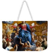 The Assumption Of The Virgin Mary Weekender Tote Bag by Guido Reni