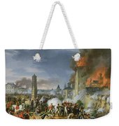 The Attack And Taking Of Ratisbon, 23rd April 1809, 1810 Oil On Canvas Weekender Tote Bag