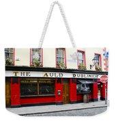 The Auld Dubliner  Weekender Tote Bag