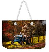 The Autumn Blues Weekender Tote Bag