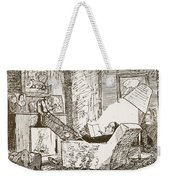 The Bachelor, Illustration From Pont An Weekender Tote Bag