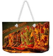 The Back Forty Boots Are Made For Dancin' Weekender Tote Bag