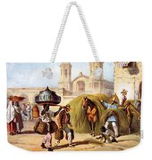 The Baker And The Straw Seller, 1840 Weekender Tote Bag