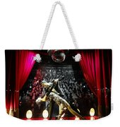 The Ballroom Dancers Weekender Tote Bag