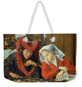 The Banker And His Wife Weekender Tote Bag