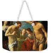 The Baptism Of Christ Weekender Tote Bag