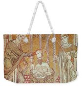 The Baptism Of St. Paul By Ananias, From Scenes From The Life Of St. Paul Mosaic Weekender Tote Bag