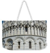 The Baptistery In Pisa  Weekender Tote Bag