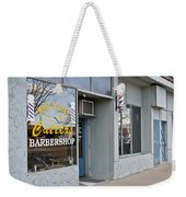 The Barber Shop 3 Weekender Tote Bag