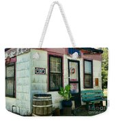 The Barber Shop From A Different Era Weekender Tote Bag by Paul Ward