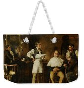 The Barbers Shop Weekender Tote Bag