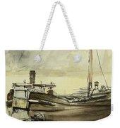 The Barge Weekender Tote Bag